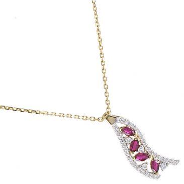 Collier or rubis & diamant(s) Stepec - aHNlIPOXj ru oj