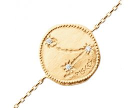 Bracelet plaqué or poisson Stepec - ESJBUOBT