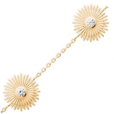 Bracelet plaqué or oxydes soleil Stepec - ESJBXXBT