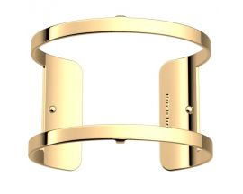 Bracelet manchette Les Georgettes - Pure finition or 40 mm