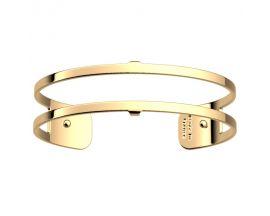 Bracelet manchette Les Georgettes - Pure finition or 14 mm