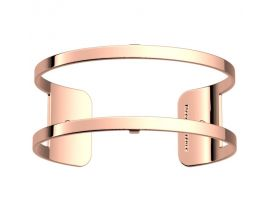 Bracelet manchette Les Georgettes - Pure finition or rose 25 mm