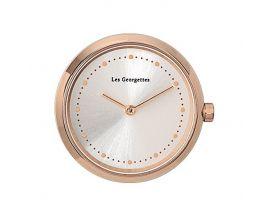 Boîtier montre Les Georgettes Coutures - Grande Absolue rond rosé