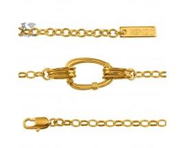 Bracelet ligne murmure plaqué or Kenzo - 70143400100