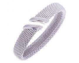 Bracelet jonc argent et oxydes Una Storia - JO134109