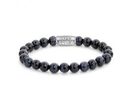 Bracelet perles Rebel & Rose Tiger Blues 8 mm - RR-80039-S