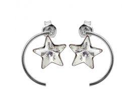 Boucles d'oreilles boutons Indicolite - BOPUSTAR001