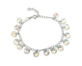 Bracelet argent Indicolite - BRHELEN001SH