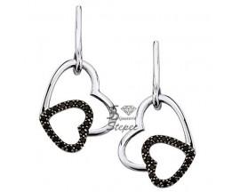Boucles d'oreilles pendants argent GL Paris - Altesse - 70189721115000