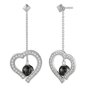 Boucles d'oreilles pendants argent Jourdan - AMK061