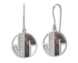 Boucles d'oreilles pendants argent Jourdan - AMK068