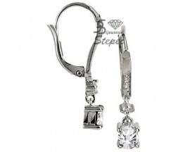 Boucles d'oreilles brisures argent GL Paris - Altesse - 70198901108000