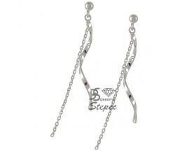 Boucles d'oreilles pendants argent GL Paris - Altesse - 70200741100000