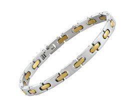 Bracelet acier bicolore Jourdan - LI012H