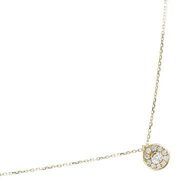 Collier or diamant(s) Clozeau - N229D