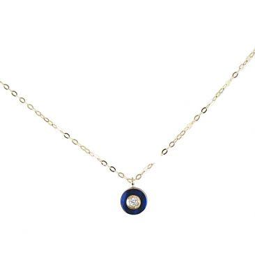 Collier empierré or diamant(s) Clozeau - R613DBP