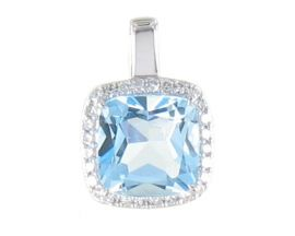Pendentif or topaze(s) & diamant(s) - LT3096TBDTSW