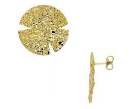 Boucles d'oreilles argent doré Stepec - 3130135D