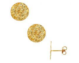 Boucles d'oreilles argent doré Stepec - 31318232D