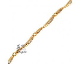 Bracelet empierré plaqué or GL Paris - Altesse - 70205450108