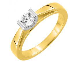 Bague solitaire or & diamant(s) synthétique(s) Diamanti - DS1010.22