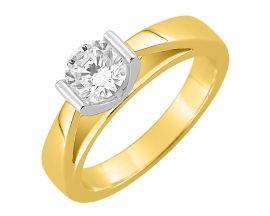 Bague solitaire or & diamant(s) synthétique(s) Diamanti - DS1012.22