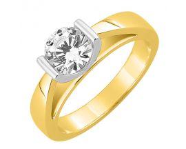 Bague solitaire or & diamant(s) synthétique(s) Diamanti - DS1013.22