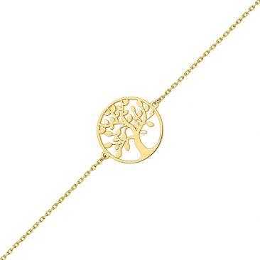 Bracelet arbre de vie or Robbez Masson - 9K7918