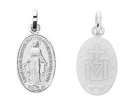 Médaille vierge argent Robbez Masson - 336240