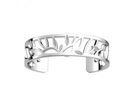 Bracelet manchette Les Georgettes - Arbre de vie Précieuses finition argent 14 mm