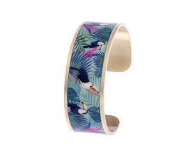 Bracelet rigide Louise's Garden - MOA2203