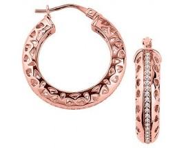 Boucles d'oreilles créoles plaqué or GL Paris - Altesse - 70236254008000