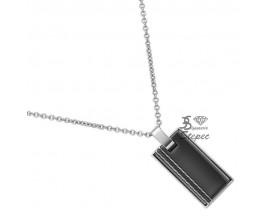 Collier acier Phebus & céramique Phebus - 72-0031-N
