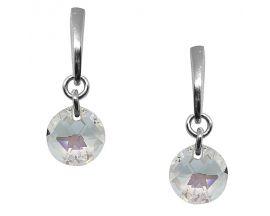 Boucles d'oreilles pendants argent Indicolite - BOPUSOPH001SH