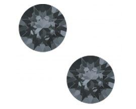 Boucles d'oreilles boutons argent Indicolite - PURONSINI