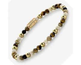 Bracelet perles Rebel & Rose Automn Love 4 mm - RR-40057-G