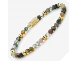 Bracelet perles Rebel & Rose Indian Summer 4 mm - RR-40046-G
