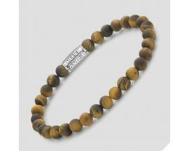 Bracelet perles Rebel & Rose Mad Tiger Lily 6 mm - RR-60083-S