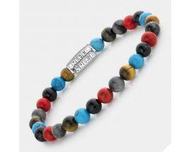 Bracelet perles Rebel & Rose Red Hot Summer 6 mm - RR-60095-S