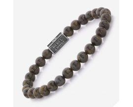 Bracelet perles Rebel & Rose Bronzite Brown 925 6 mm - RR-6S003-S