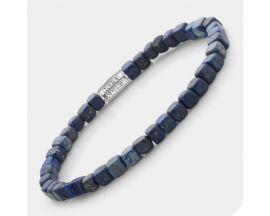 Bracelet perles Rebel & Rose Roll The Dice-Lapis Lazuli 4 mm - RR-40078-S