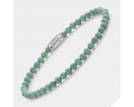 Bracelet perles Rebel & Rose Endless Summer Mint 4 mm - RR-40088-S
