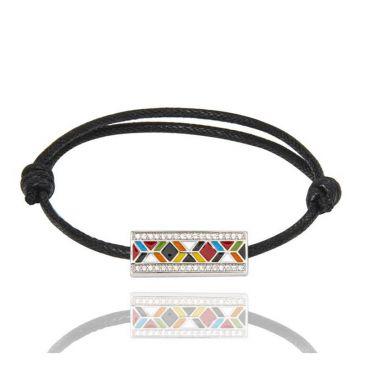 Bracelet argent oxydes Una Storia - COR121193