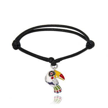 Bracelet argent oxydes Una Storia - COR12144