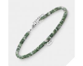 Bracelet de cheville perles Rebel & Rose Anklet Slices The Green Deal - RR-AK007-S