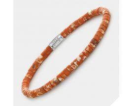 Bracelet perles Rebel & Rose No Balls Please - Slices - Apples of Orange 4 mm- RR-40093-S