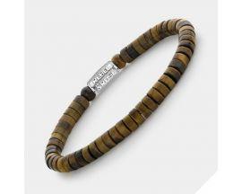 Bracelet perles Rebel & Rose No Balls Please - Slices - Tiger Lily - 6mm - RR-60092-S