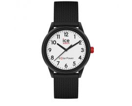 Montre ICE Solar Power- Black White Numbers Small (38mm) Ice-Watch - 018478