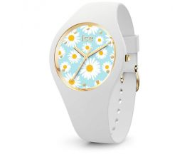 Montre ICE flower - White daisy - Small (35,5mm) Ice-Watch - 019203