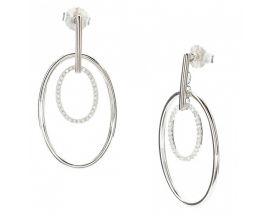 Boucles d'oreilles pendants argent LINEARGENT - 18062-A